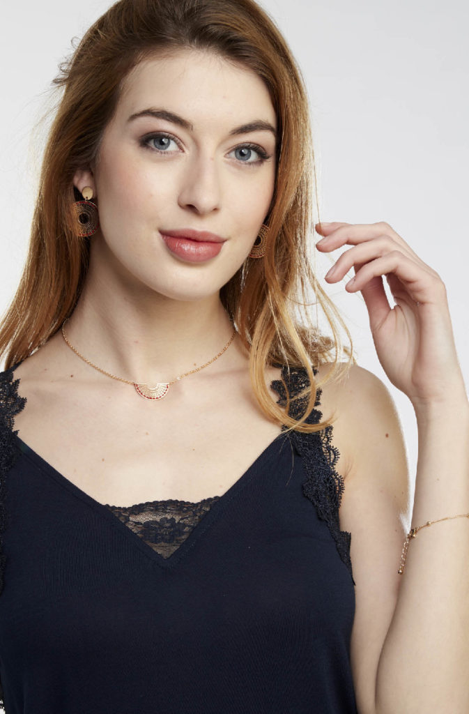 photo ecommerce textile porté sur mannequin